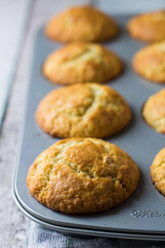 Bakewell Tart Muffins