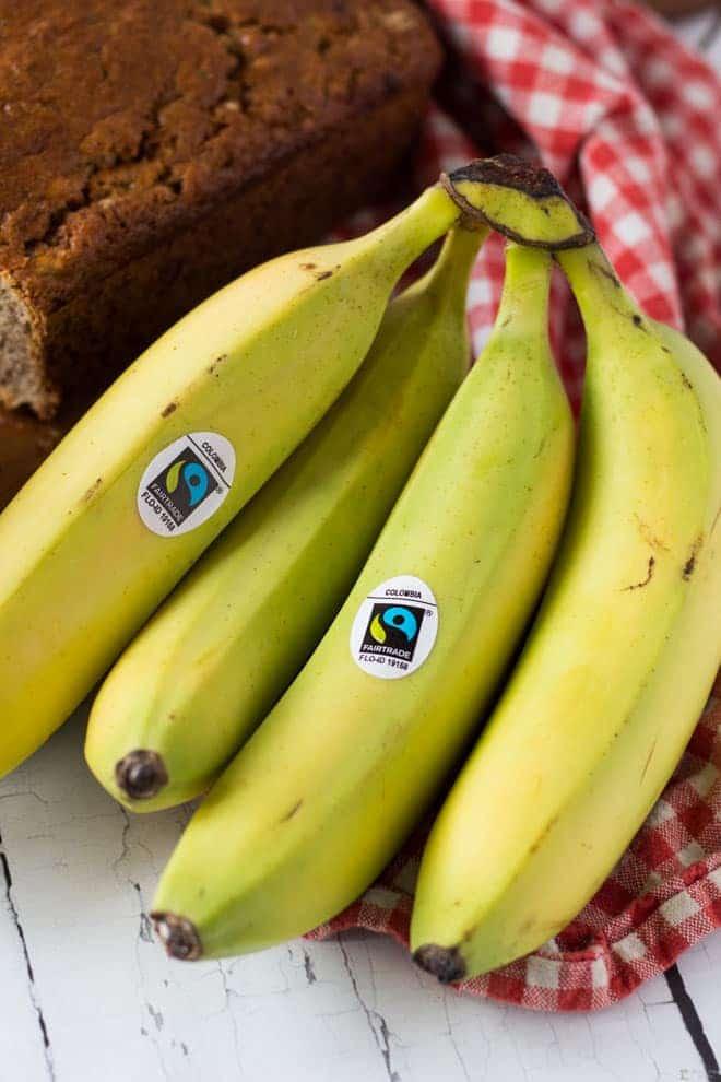 Bananas for Banana Bread.