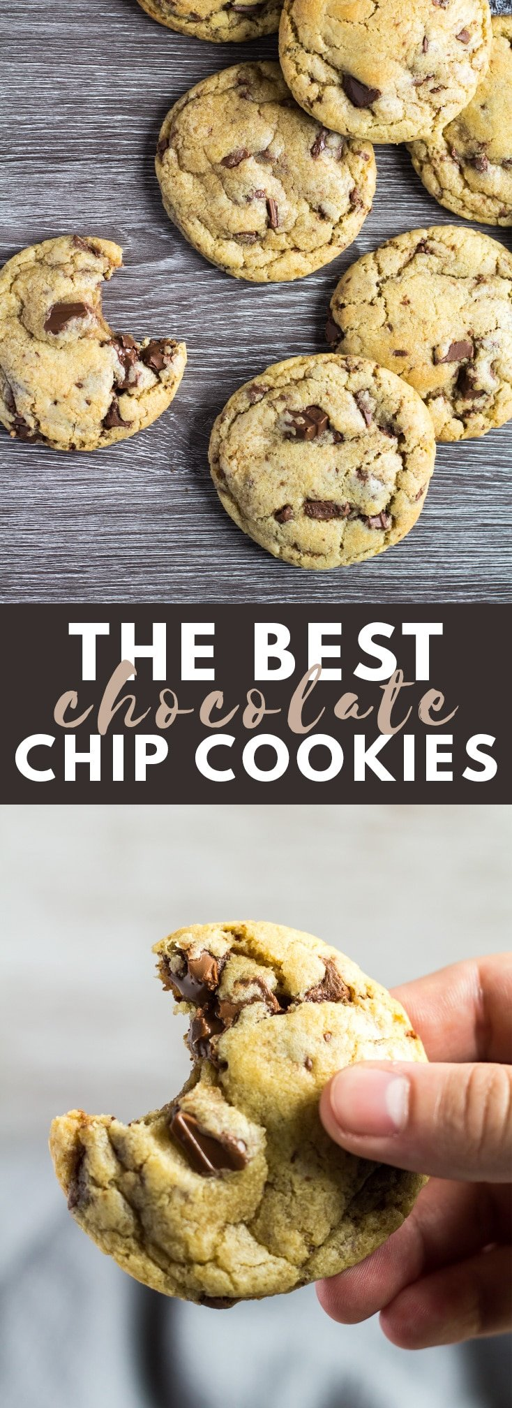 My Favourite Chocolate Chip Cookies - These cookies are deliciously soft, thick, big on flavour, and stuffed full of melty chocolate chips. They are a favourite for a reason!