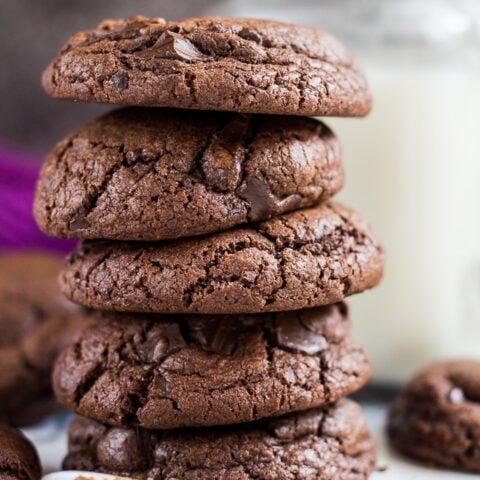 Chocolate Chip Mocha Cookies