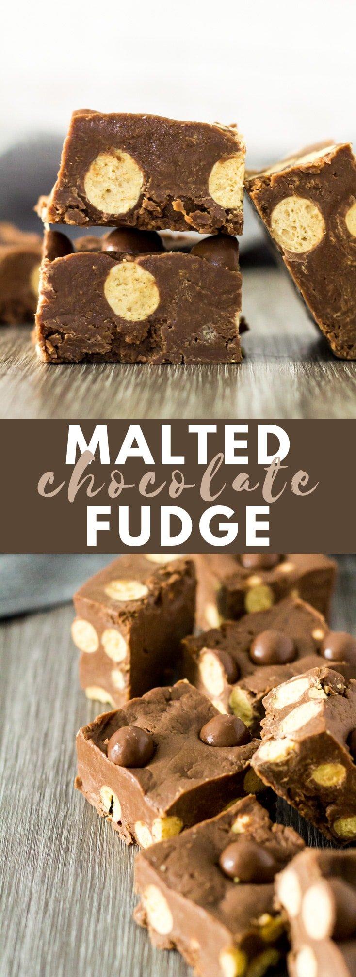 Malted Chocolate Fudge