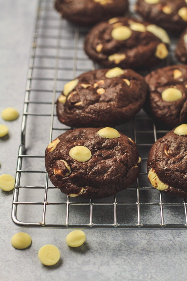 Double Chocolate Banana Cookies