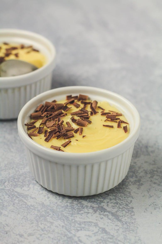Easy White Chocolate Pots de Crème