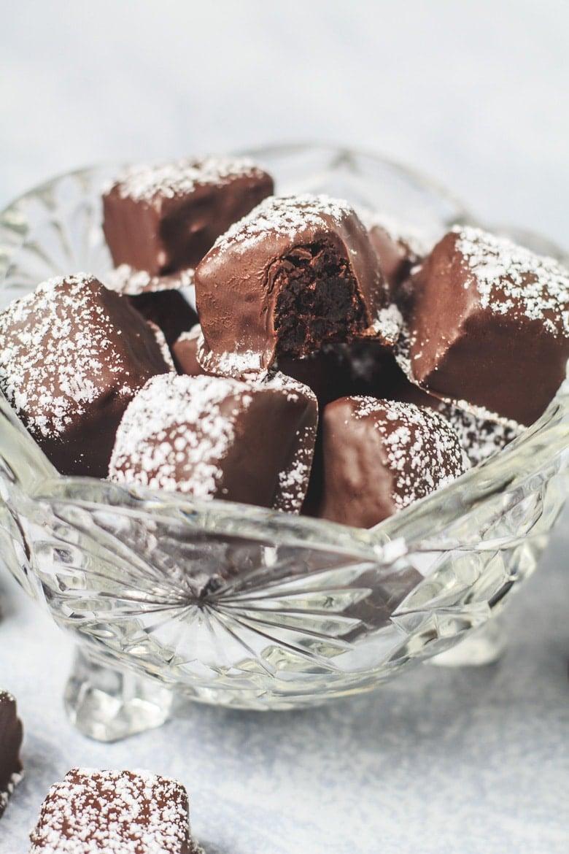 Cinnamon Brownie Bites