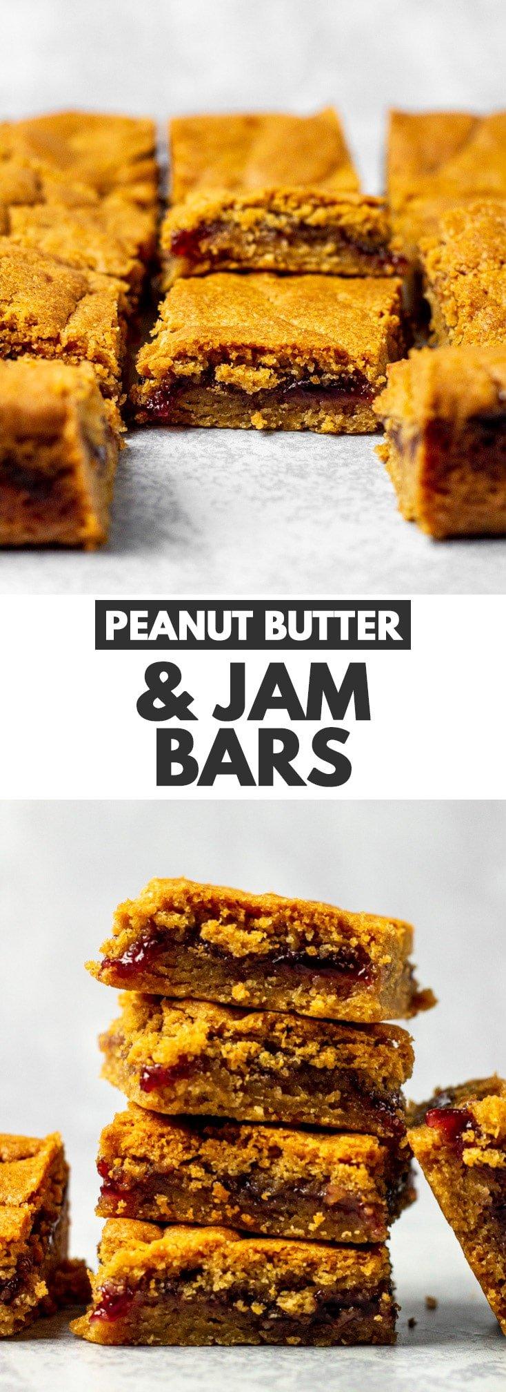 Peanut Butter & Jam Bars
